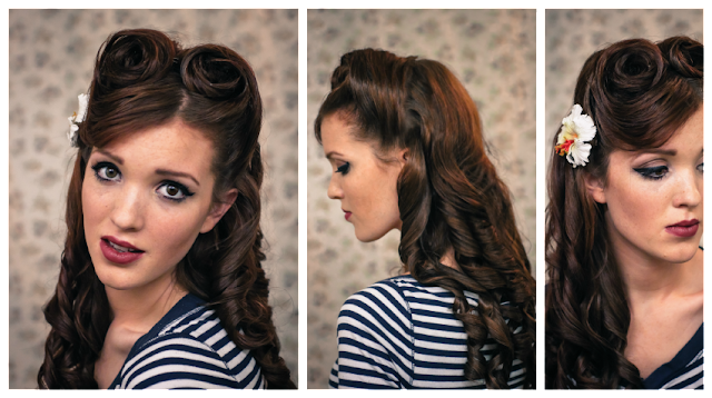 50s pin up hairstyles : 50s Hairstyle Tutorial