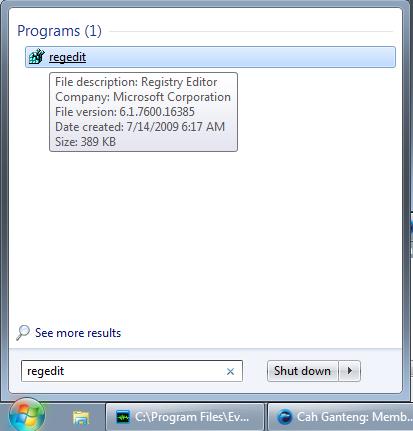 Cara Menghilangkan Anak Panah di Windows
