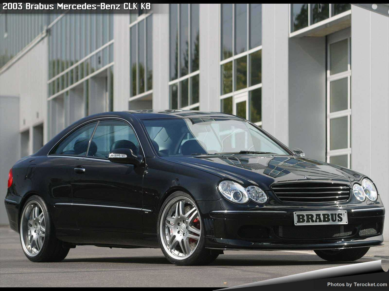 Hình ảnh xe ô tô Brabus Mercedes-Benz CLK K8 2003 & nội ngoại thất