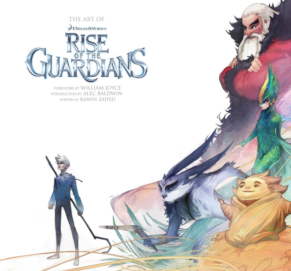Top Cartoon and Comic: Rise of the Guardians