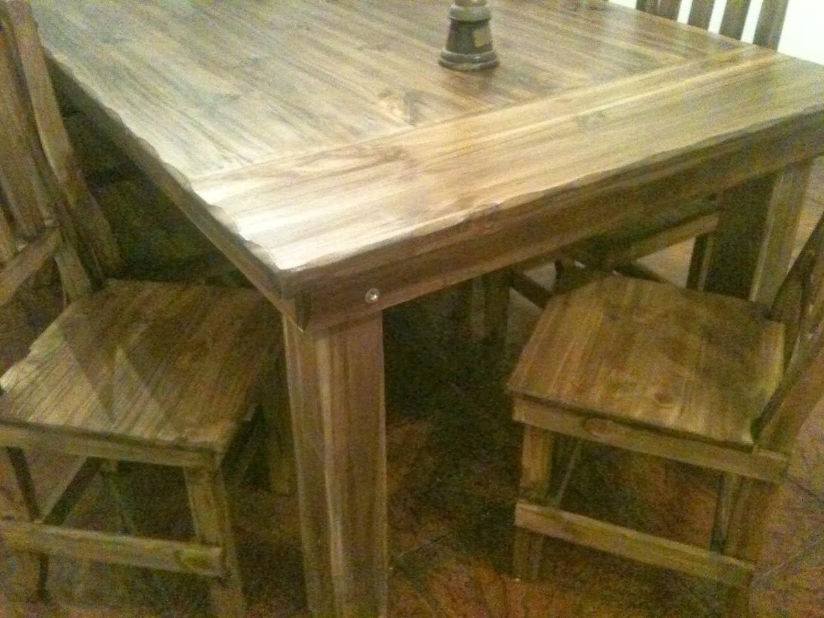 Fabrica de mesas y sillas en zona norte mesa de quincho for Fabrica de mesas y sillas