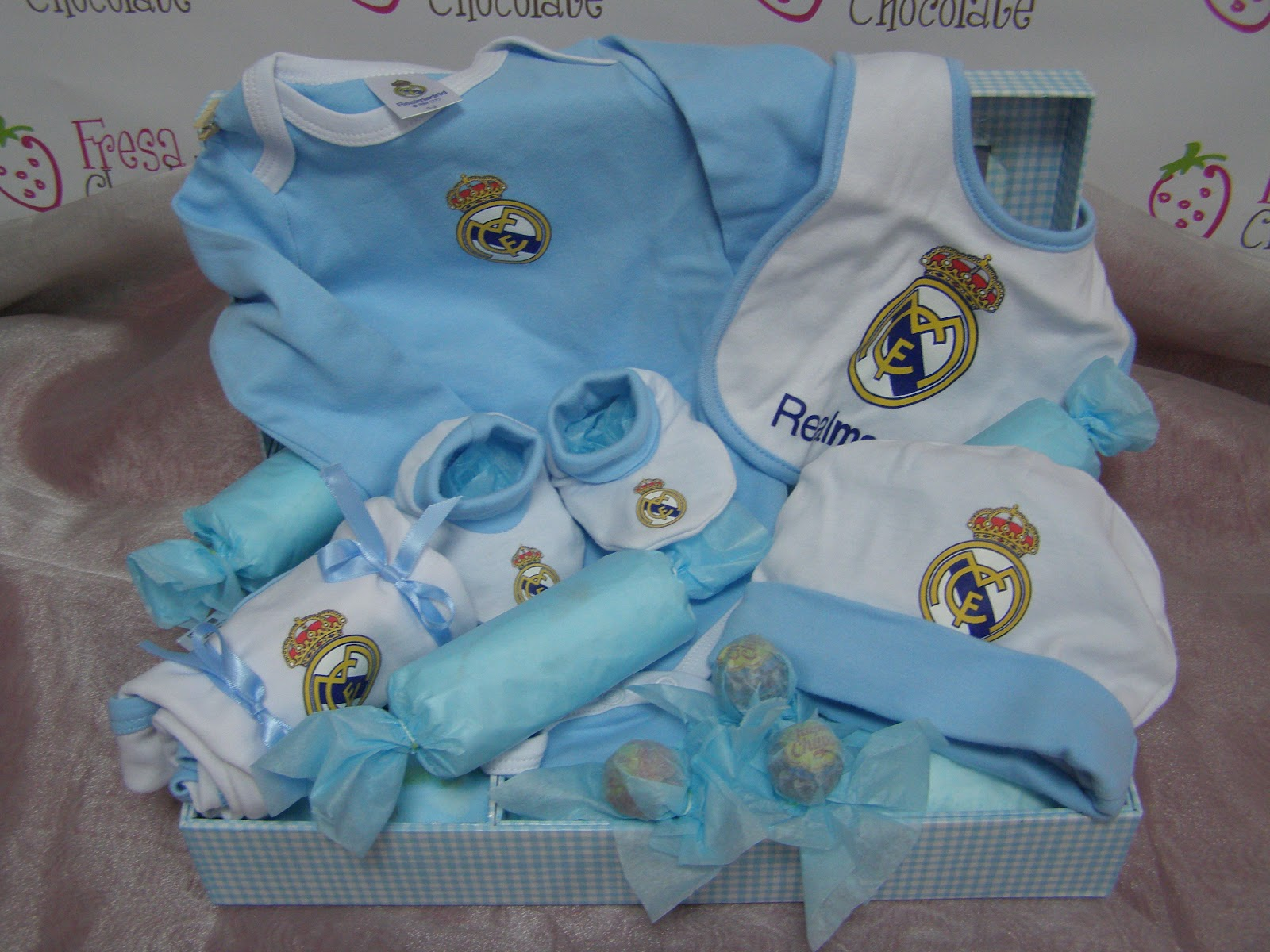 Real Madrid Cake Decorations