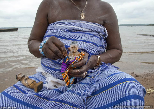 Photos From The African Village Where Dead Children Are Made Into Voodoo Dolls