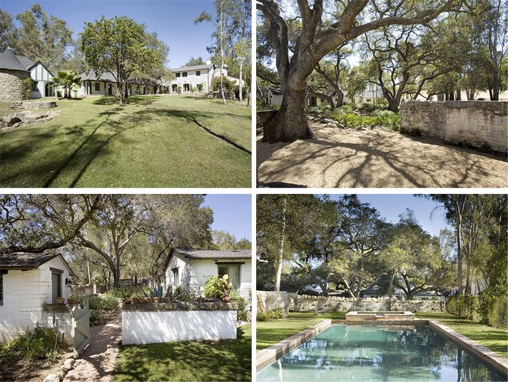 The real estalker reese witherspoon sells ojai mini ranch for The ranch house in ojai