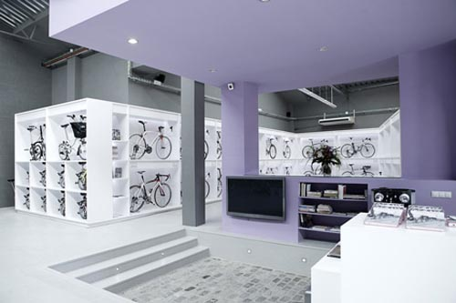 Bicycles Store Interior Design ideas