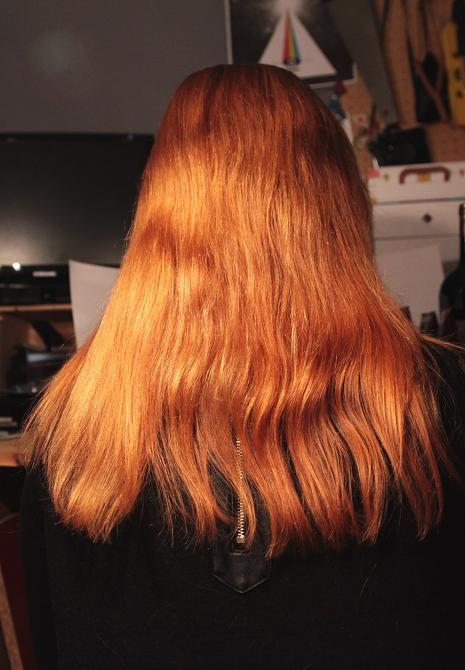 nous voici au j1 premier shampoing la framboise et aprs shampoing au niveau de lodeur rien dire a sent bon mais pas trop fort - Shampoing Cheveux Colors Sans Silicone