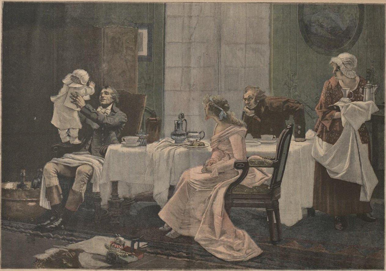 François Flameng camille desmoulins