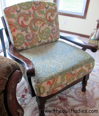 Fifties Chair All Re-Done