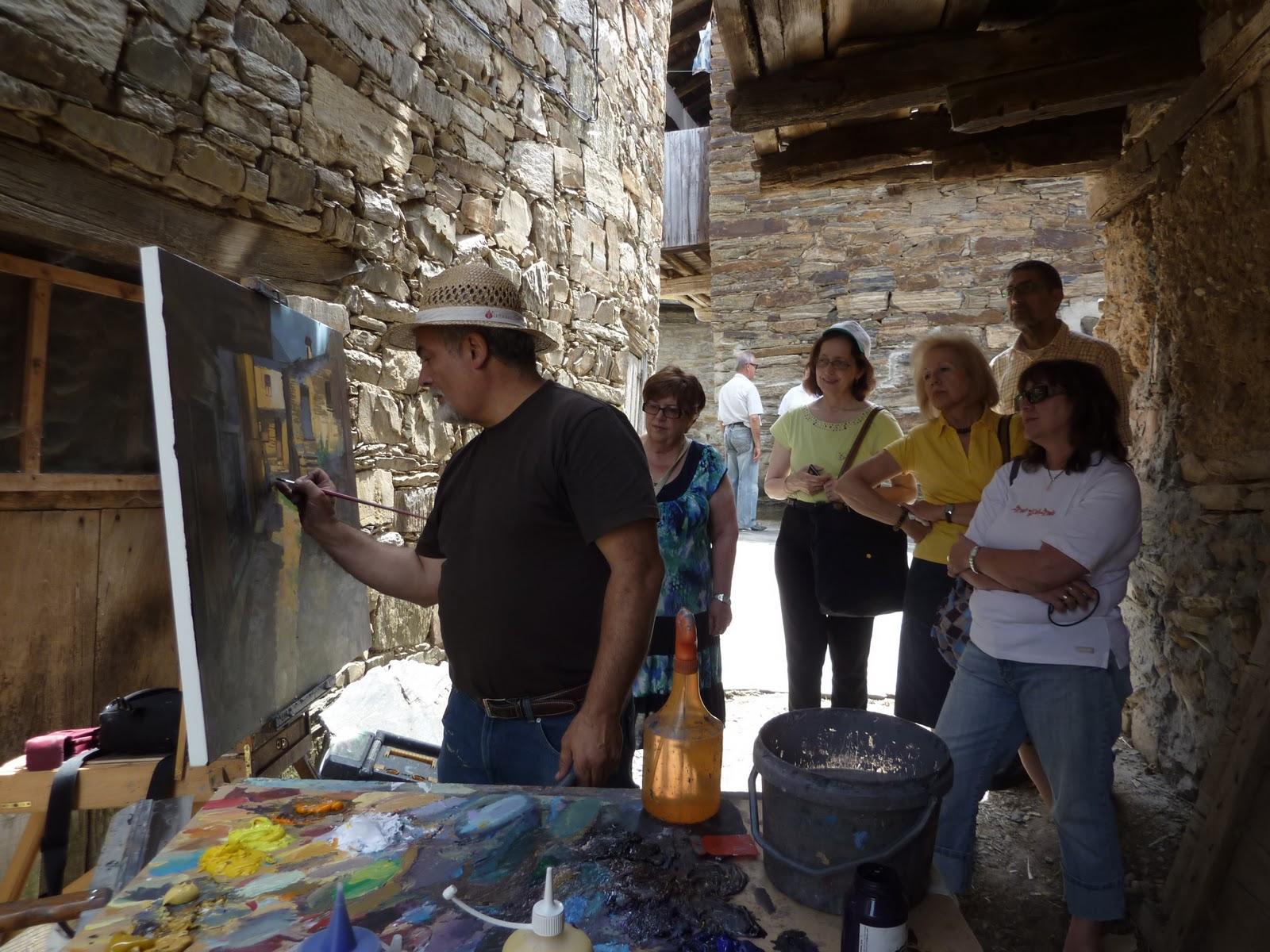 Diego f colum curso de pintura en ponferrada mis - Pintores en gijon ...