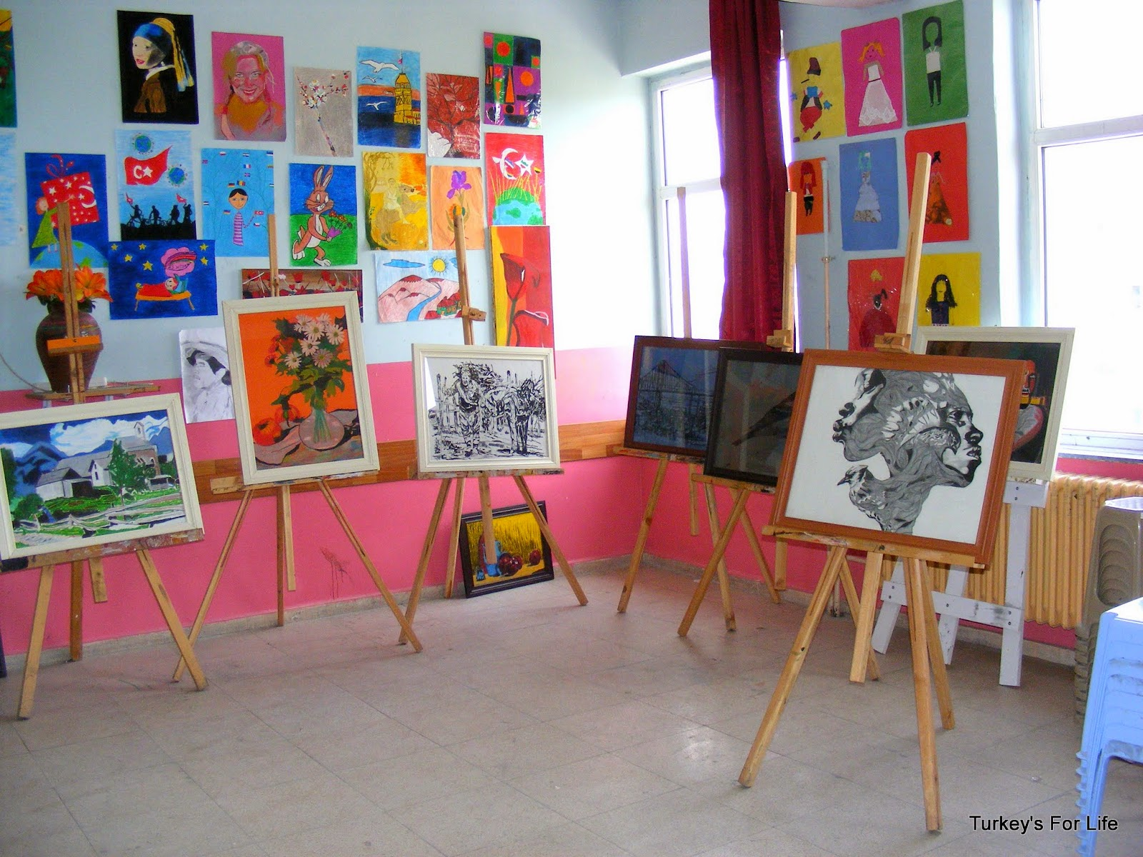 Children's Artwork, Doğansu, Agrı, East Turkey
