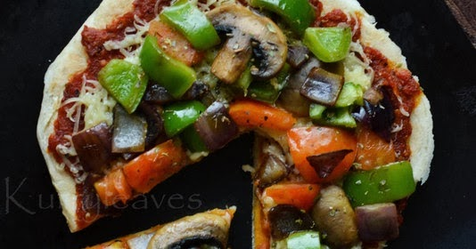 stove top pizza no oven pizza kurryleaves