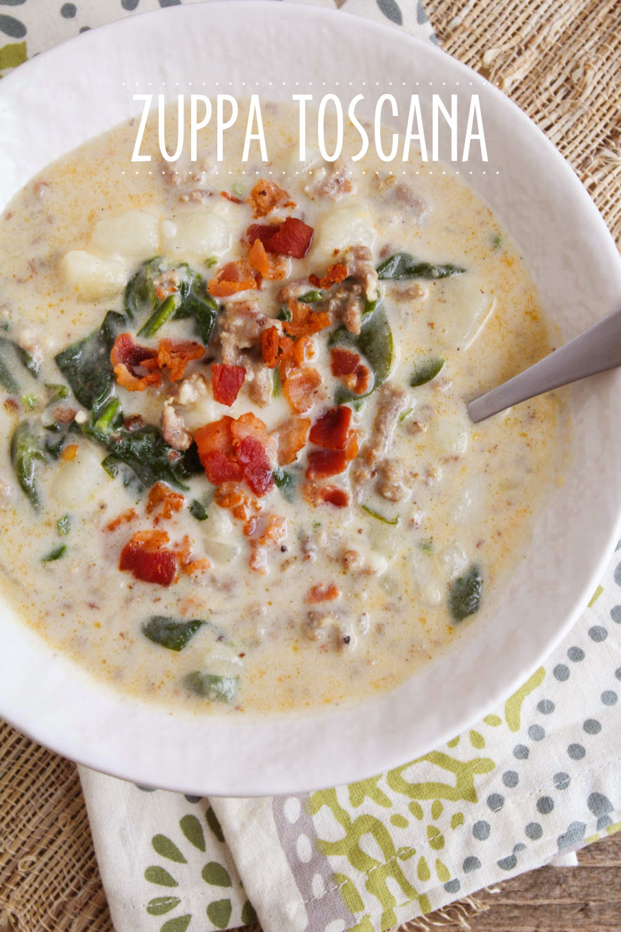This copycat zuppa toscana is so savory and filling - a delicious combination of flavors!