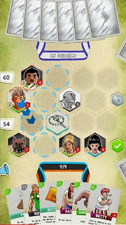Screenshots of the Fight: Polish card game for Android tablet, phone.