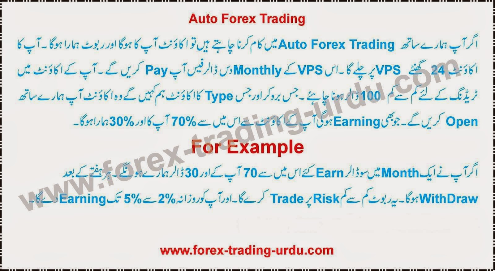 Forex urdu meaning