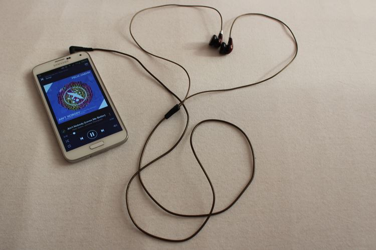 Samsung Galaxy S5, Spotify, Musik hören, listen to music