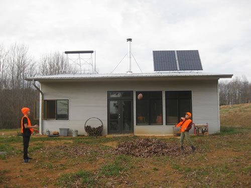 Thankful At The Off Grid Passive Solar Prefab Home Over