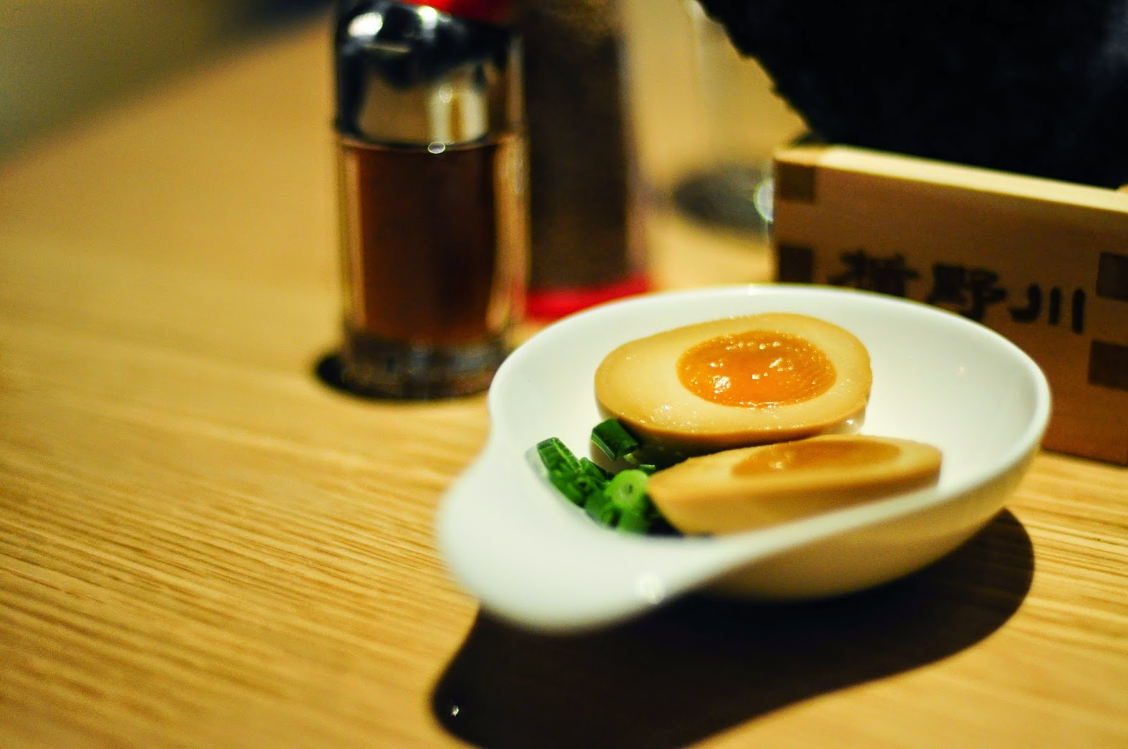 Tamago ramen egg ippudo review