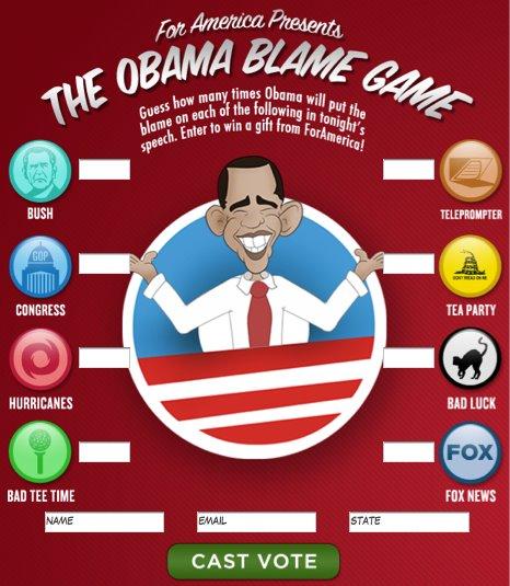 obama blames Bush again