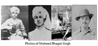 Photos of Saheed Bhagat Singh