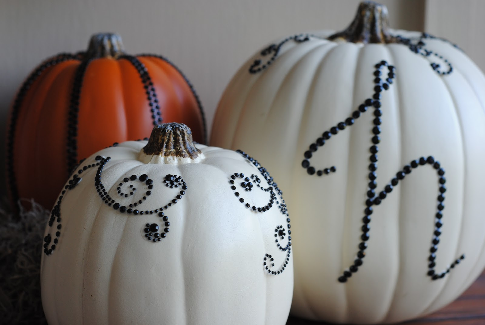 DIY Halloween Decor: Sequined Pumpkins | Making Lemonade