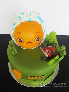 День рождения торт Колобок Браганса Португалия