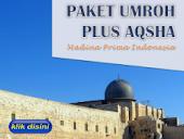 PAKET UMRAH PLUS AQSHA
