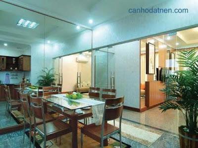 Phòng ăn căn hộ New SaiGon