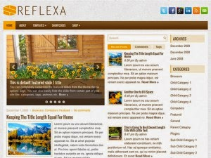 Reflexa - Free Wordpress Theme