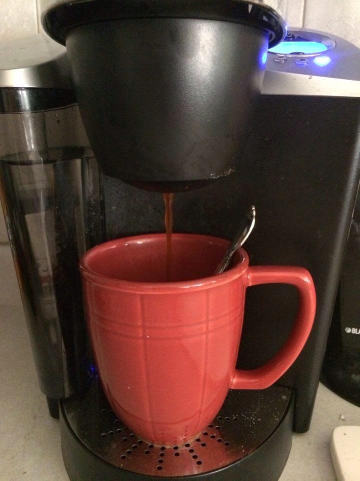 miele coffee maker descaling funnel
