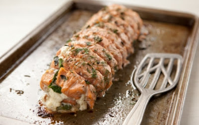 Renew Health Coaching: Roasted Salmon Stuffed with Spinach ...