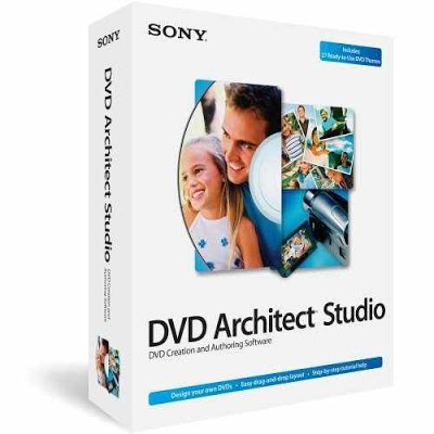 تحميل برنامج Sony DVD Architect Studio 5 صناعة DVD Video و انشاء الأفلام