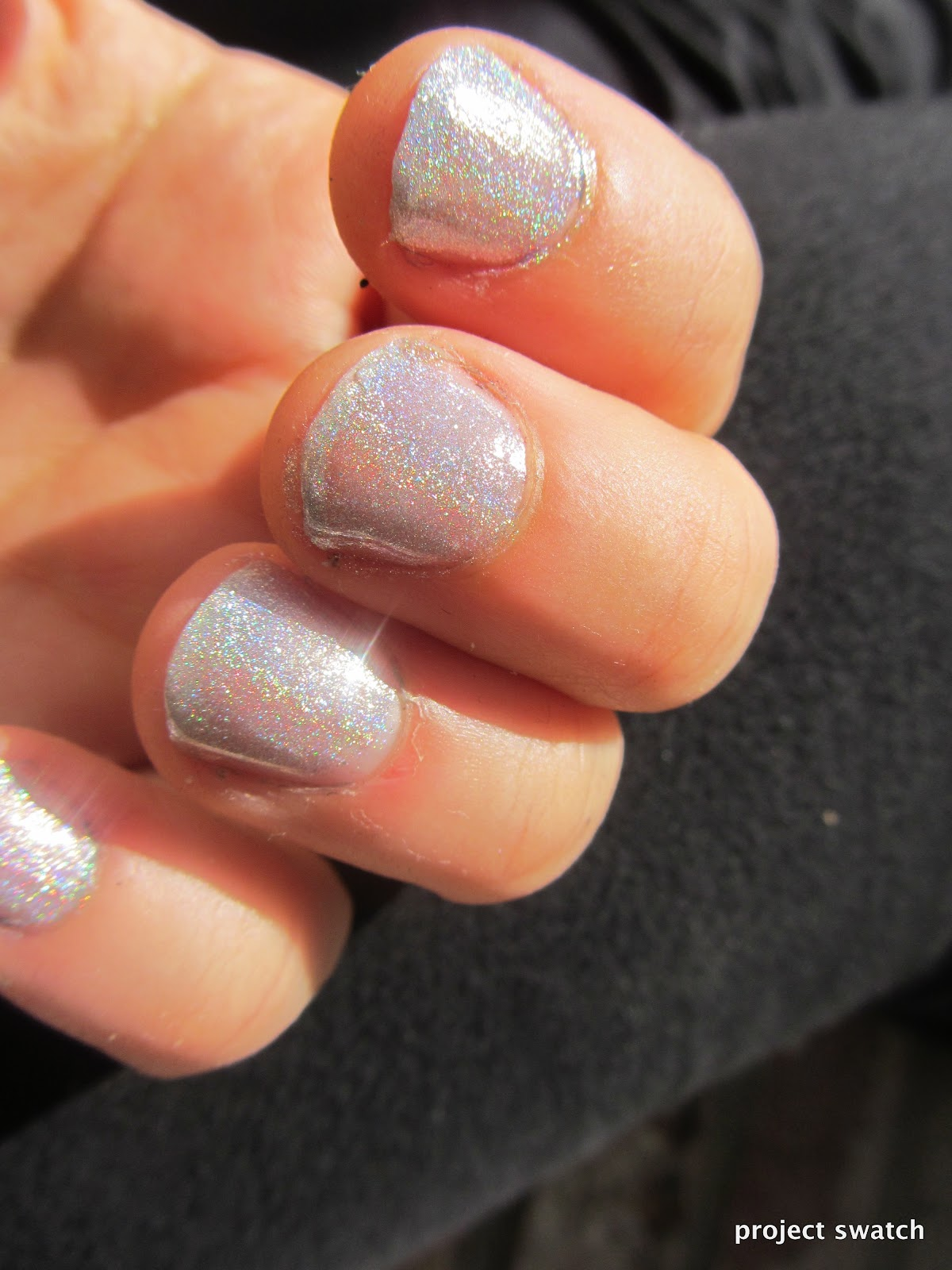 Glitter Gal Holographic Top Coat GGNP707H Review, Swatches, Photos ...