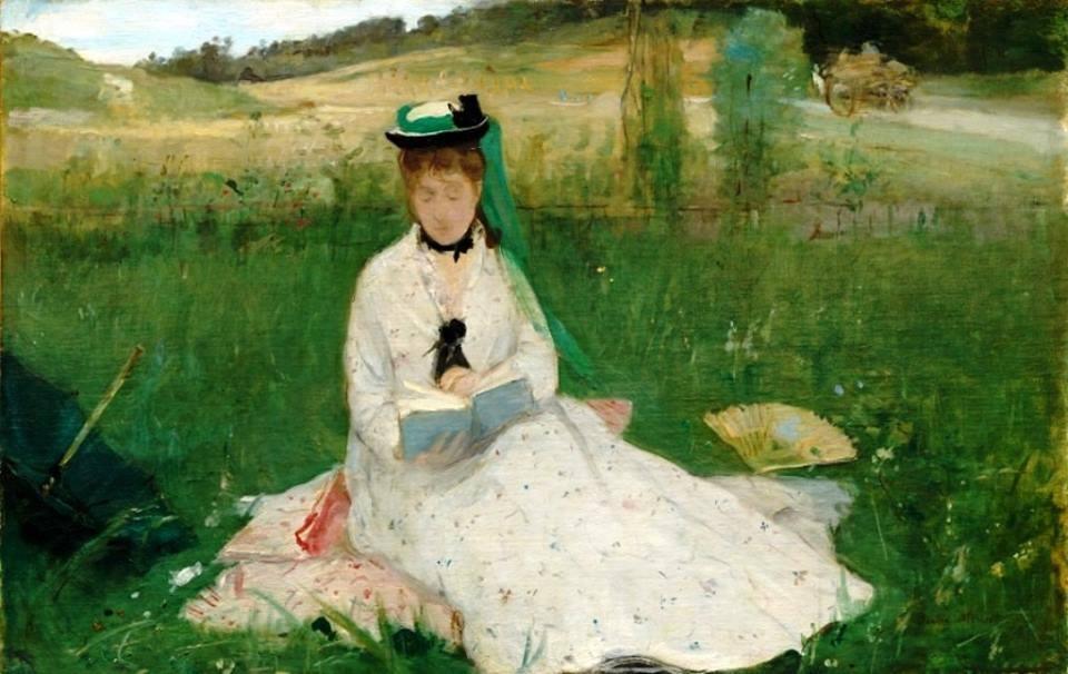 Berthe Morisot. La lectura, 1873