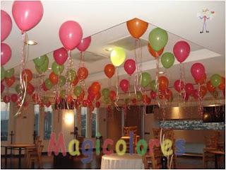 Decoracion de techos para fiestas infantiles for Decoracion draibol techos