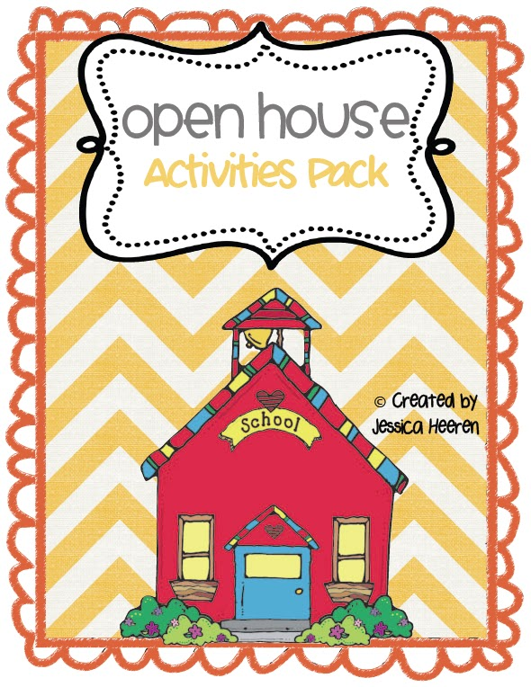 mrs. heeren's happenings: open house activities, Powerpoint templates