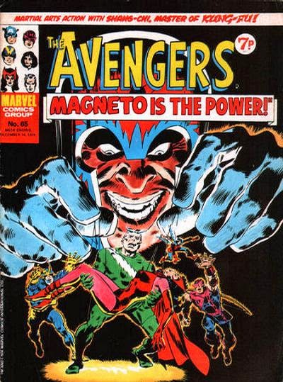 Marvel UK Avengers #65, Magneto
