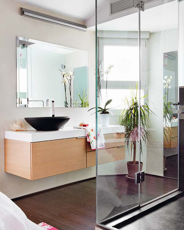 Encimeras Baño Wengue:Decoration, cocinas, cocinas integrales: Este Dúplex es el refugio