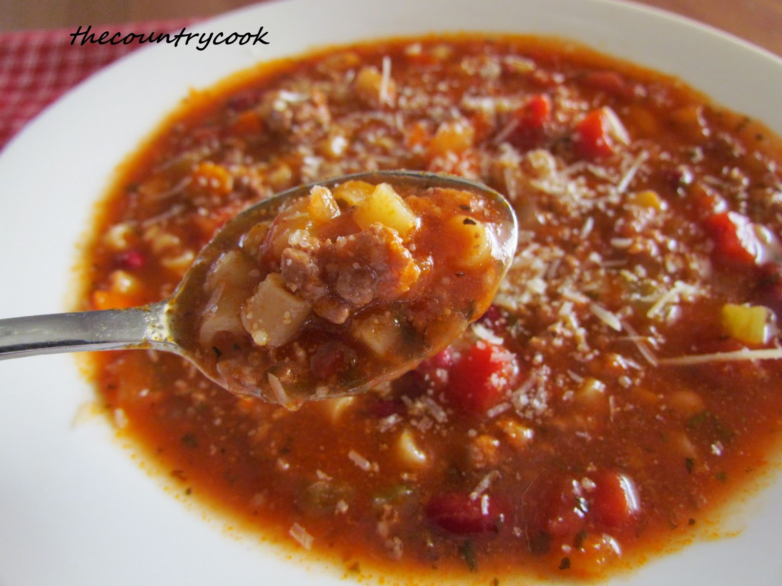 Pasta Fagioli Soup {Slow Cooker} | Great Recipe Ideas