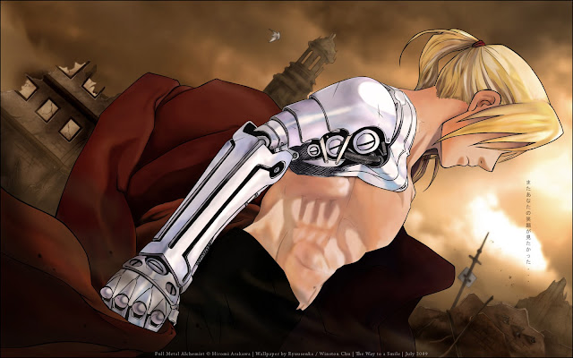 Elric Automail Hand Wallpaper 0006