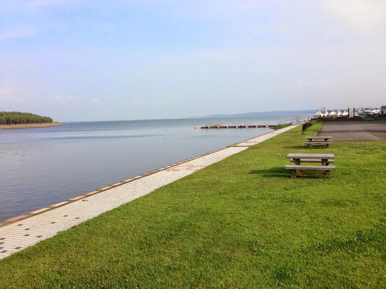 aomori lake, aomori cycling