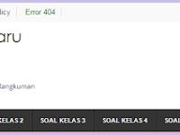 Download Soal Soal UKK KTSP Kelas 1 2 3 4 5 6 Terbaru 2015