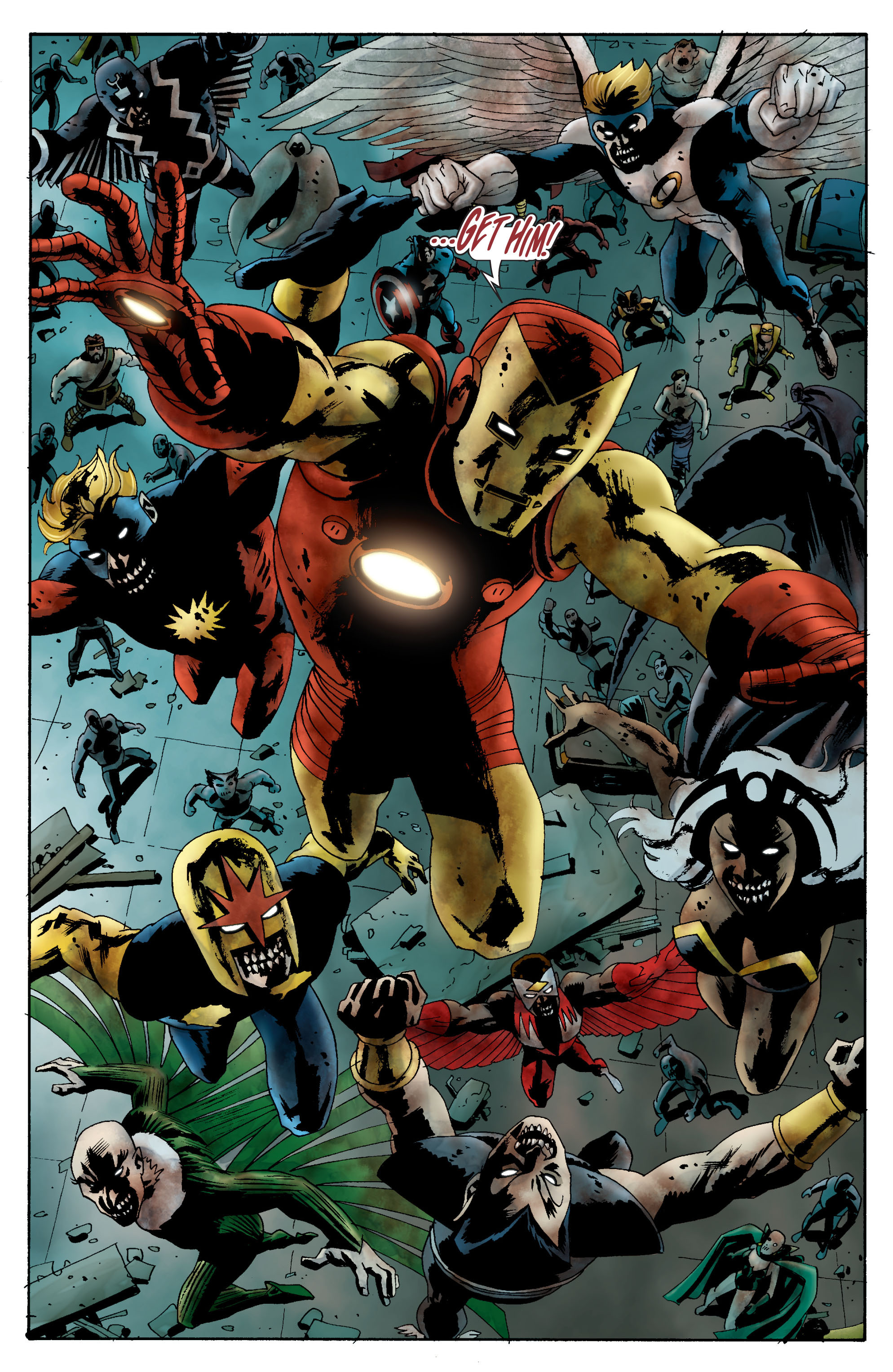 Marvel Zombies (2006) Issue #2 #2 - English 21