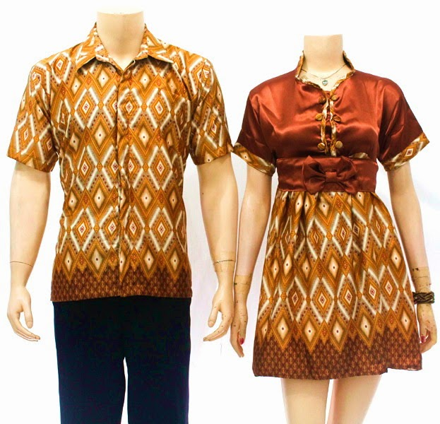 Baju Pasangan Dress Batik