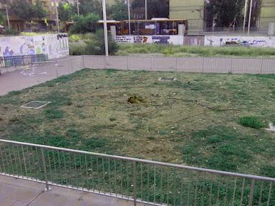 Plaza laurel de la cárcel  de Torrero Zaragoza