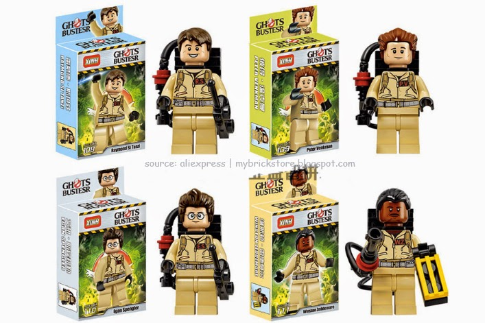 My Brick Store: Lego Ghostbusters by Xinh; set number 108 - 111