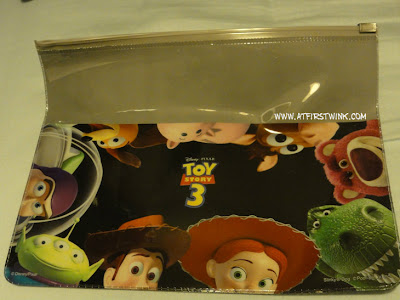 Toy story 3 zip lock bag