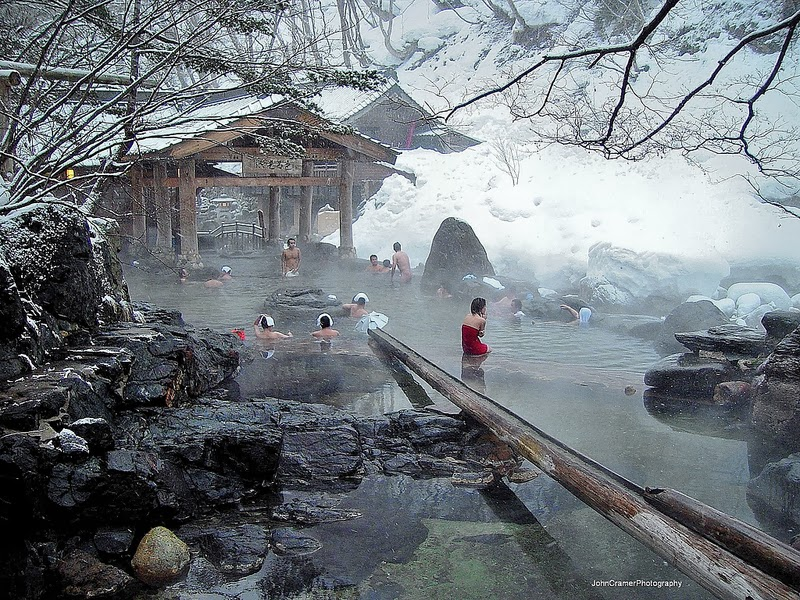 Baños Japoneses Onsen:Japanese Onsen Hot Spring Bath