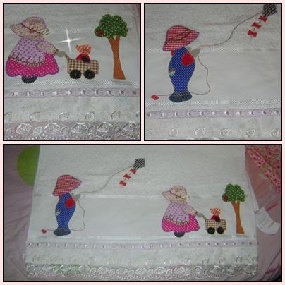 Toalha Bordada Infantil