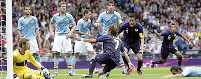 Spain-Japan 2012 Olympics