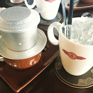 vietnam, otcb on tour, food, drinks, cafe sua da, trung nguyen
